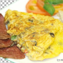 breakfast-spanish-omelette-bacon