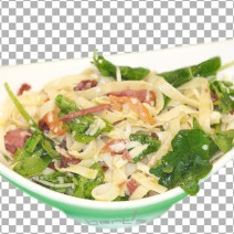 salad-bacon-tagliatelle