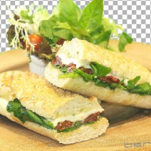sandwich-Mozarella-sun-dried-tomatoes