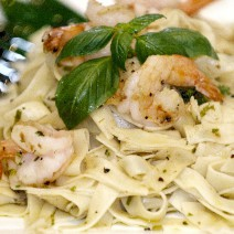 tagliatelle king shrimp
